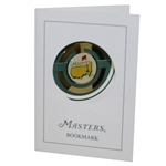 1997 Masters Tournament Limited Edition Bookmark in Original Booklet & Envelope
