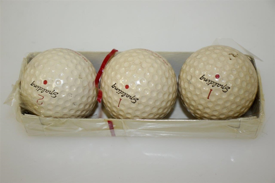 Dwight D Eisenhower's Personal Mr President Spalding Golf Ball Sleeve