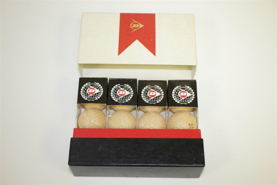 Dunlop Maxfli Red Golf Balls in Original Box