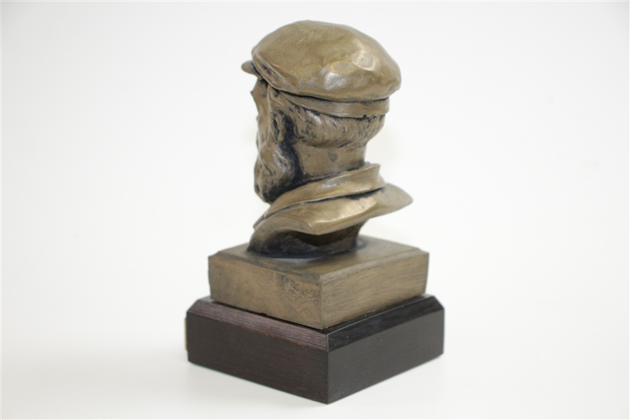 Old Tom Morris Bust Trophy for 2nd Auld Tom Morris Grand Challenge Match - Frank Cougan Winner