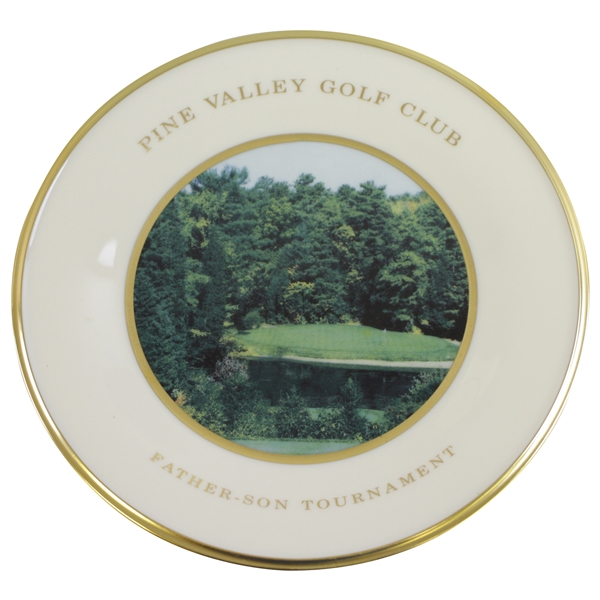 Pine Valley Golf Club Lenox Father-Son Tournament Plate - 14th Hole