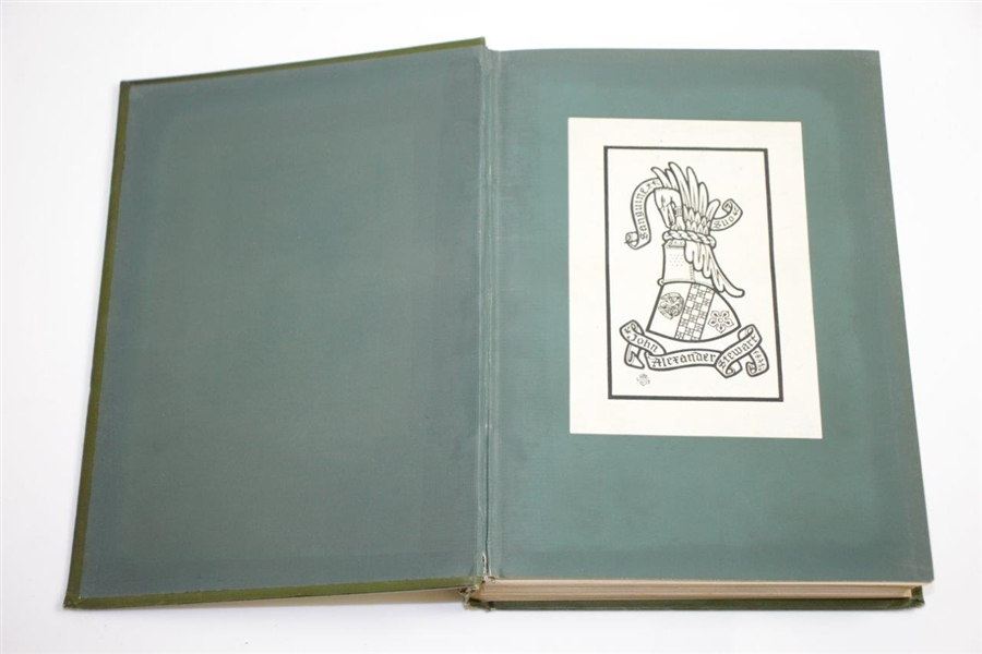 1893 'Golf: A Royal & Ancient Game' Book by Robert Clark