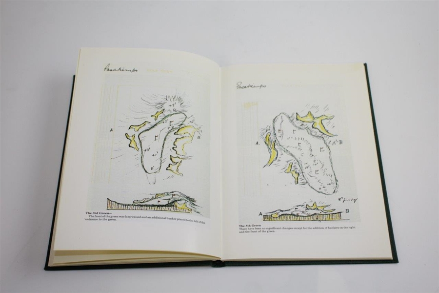 'Dr. Mackenzie's Golf Architecture' Ltd Ed 109/700 Book Reprinted by Grant Books