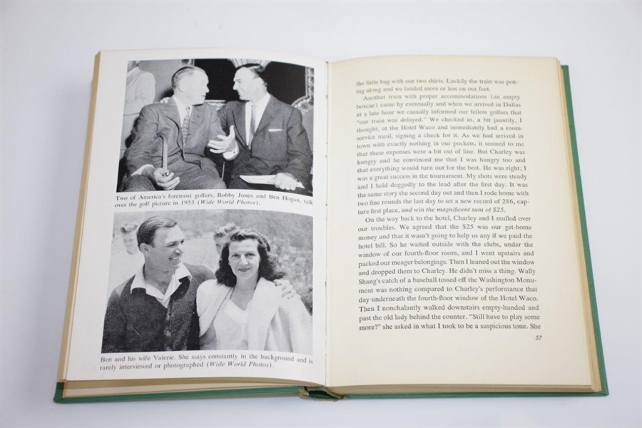 1954 'My Partner Ben Hogan' Book by Jimmy Demaret