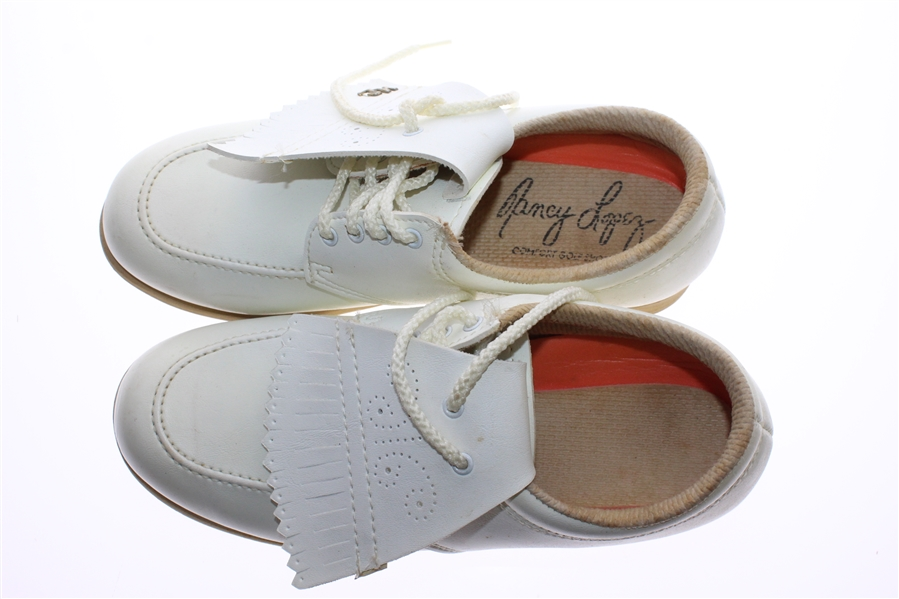 Nancy Lopez Early Career Signature Shoes with Classic Shoebox