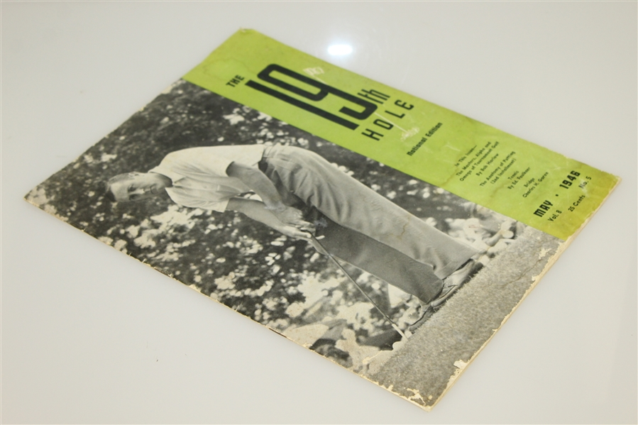 Herman Keiser May 1946 Coverage of Masters Win - The 19th Hole Magazine