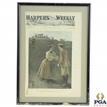 1897 Harpers Weekly Cover - July 21st - Framed