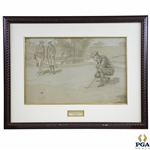 Pencil and Pastel On Board Signed by Artist Fielyen - Framed