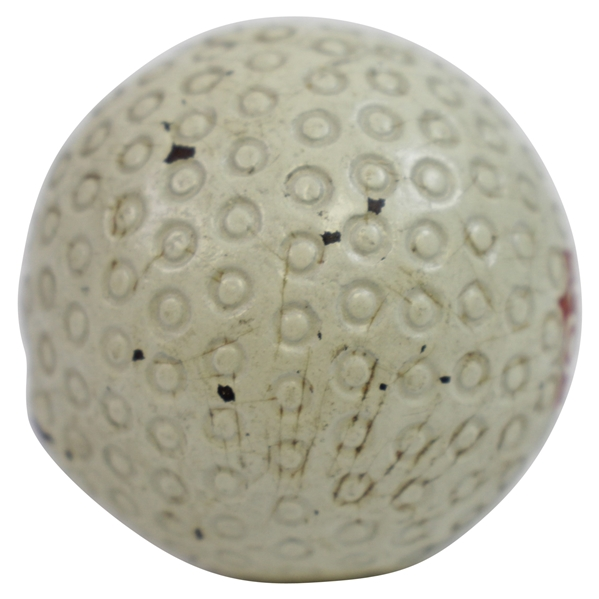 1902 Wright & Ditson BABY Golf Ball - Pat. Ap 11-99 - Very Good Condition