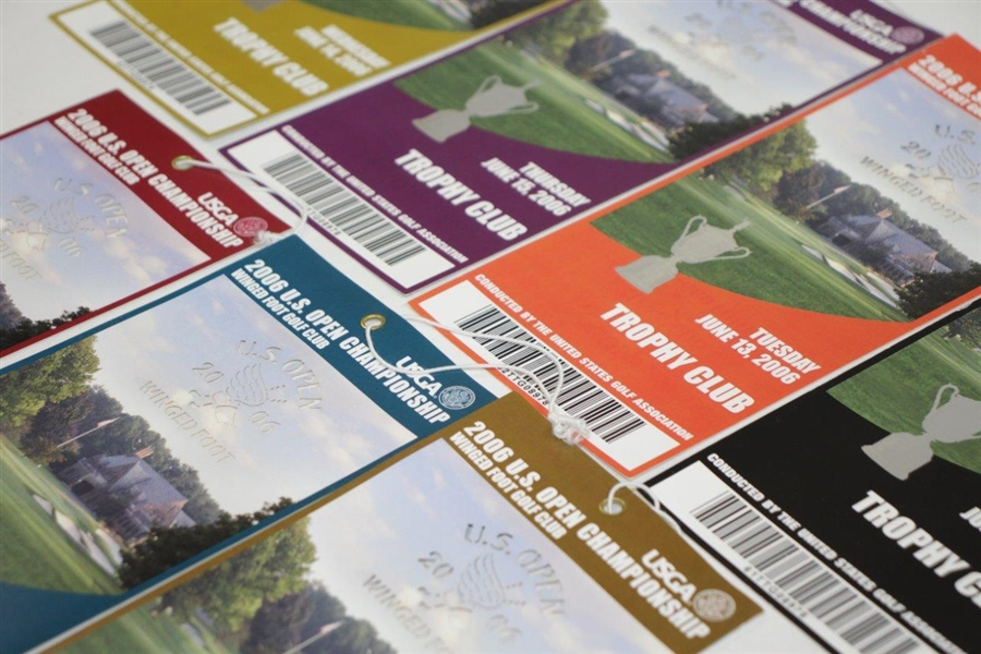 2006 US Open at Winged Foot Golf Club Trophy Club Tickets - Geoff Ogilvy