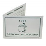 1997 Masters Tournament Official Scorecard
