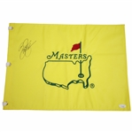 Rickie Fowler Signed Undated Masters Embroidered Flag JSA #GG75930