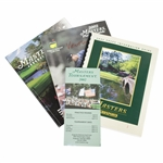 Ken Venturis 2002 Masters Player Guide, Journal, Press Info Guide, & Pamphlet - Final Masters