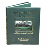 Ken Venturis Augusta National & The Masters Book Signed by Frank Christian JSA ALOA