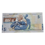Jack Nicklaus Signed RBS 5lb Note JSA #T68241