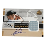Tiger Woods Signed SP Game Used Ltd Ed 99/100 Signature Shirts Golf Card UDA