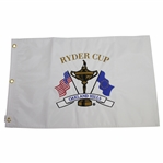 2004 Ryder Cup Matches at Oakland Hills Embroidered White Flag