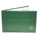 Post 1952 Album The Masters Tournament Augusta National Golf Club Member/Player Gift - John W. Evers, Jr.