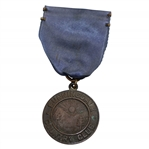 Vintage Sunningdale Country Club Medal with Navy Ribbon