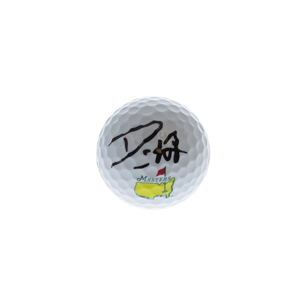 Danny Willet Autographed Signed Titleist Masters Golf Ball - JSA Certified Authentic