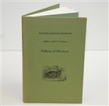 1990 Millions of Mischiefs: Rabbits, Golf & St Andrews by Alistair Beaton Adamson
