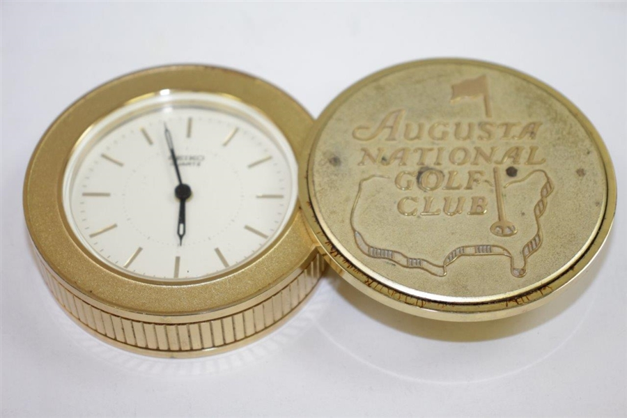 Ken Venturi's Undated Augusta National Golf Club Seiko Clock