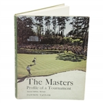Ken Venturis The Masters: Profile of a Tournament Book Signed & Inscribed by Taylor JSA ALOA