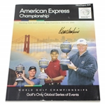 Ken Venturis Personal 2005 American Express World Golf Championships Program JSA ALOA