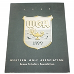 1953 Western Golf Association Evans Scholars Foundation Program - Rod Munday Collection