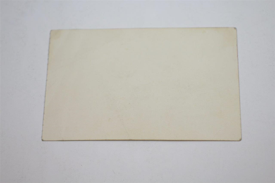 1952 National Celebrities Inv. Tournament Rules, Banquet Ticket, & Menu - Rod Munday Collection