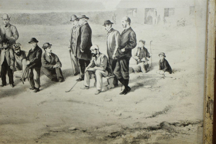First Tee Westward Ho Print by F.P. Hopkins - Reproduction