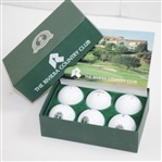 1995 PGA Championship at Riviera Country Club Titleist DT Golf Balls - Half Dozen in Original Box
