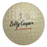 Ken Venturis Personal Billy Casper Personal Billy Casper Autograph Logo Golf Ball