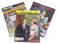Ken Venturis Personal Signed Sports Illustrated Magazines - June 64, Dec 64, & June 66