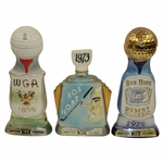 1971 Western Open, 1973 & 1974 Bob Hope Desert Classic Ltd Ed Decanters