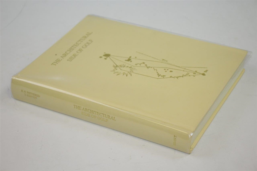 Ltd Ed 'The Architectural Side of Golf' by H.N. Wethered & T. Simpson #462/565 - 1995