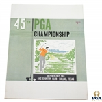 1963 PGA Championship at DAC Country Club - Jack Nicklaus Winner - Excellent Condition