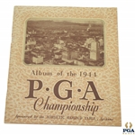 1944 PGA Championship at Manito Golf & Country Club - Bob Hamilton Winner - Excellent Condition