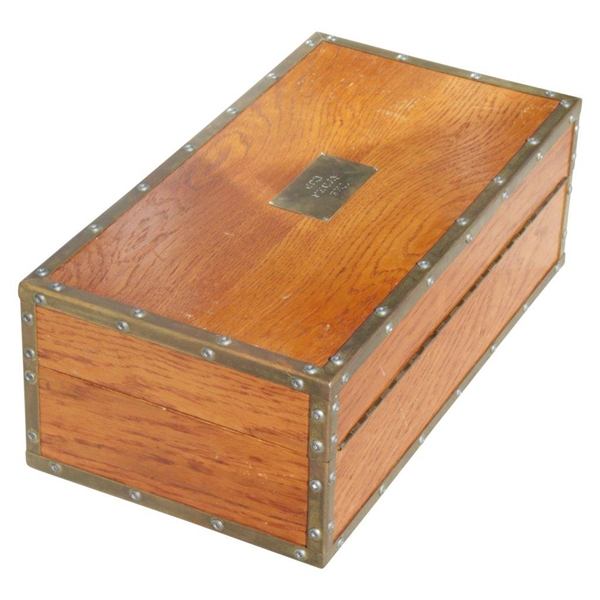 Official Ryder Cup Trophy Travelling Wood Box Used to Transport THE Ryder Cup