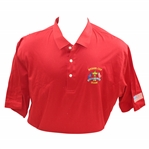Mark Calcavecchias 1991 Ryder Cup USA Team Issued Red Short Sleeve Shirt - XXL