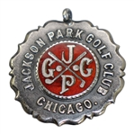 1913 City of Chicago Amateur Championship Runner-Up Medal Awarded to George R. West