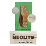 Classic GoodYear Neolite Flex Golf Shoes Point of Sale Advertisement