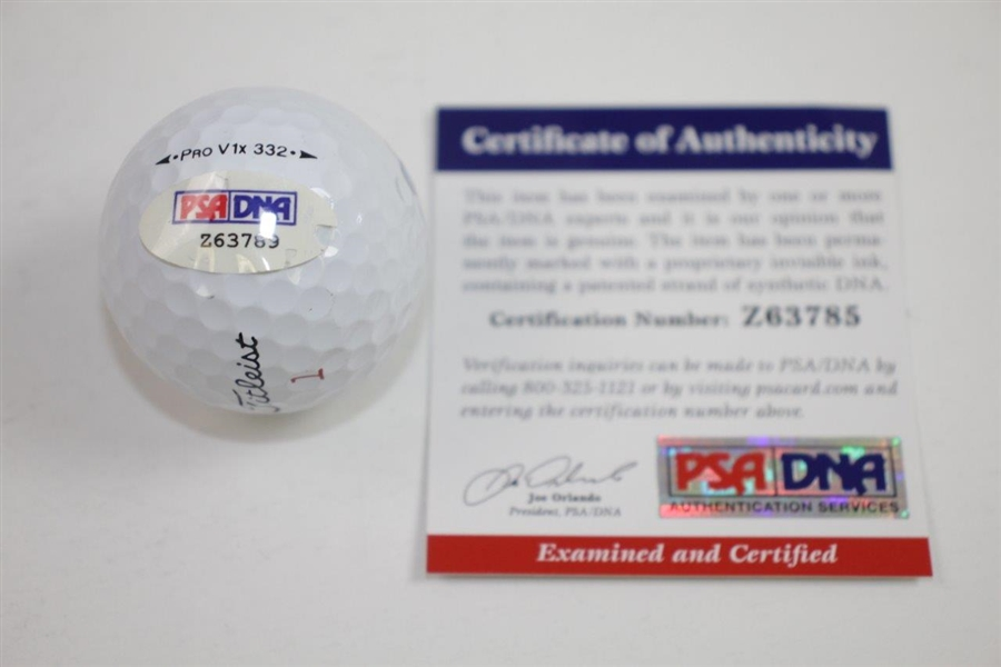 Billy Casper Signed Sahara Paradise Valley CC Logo Golf Ball PSA/DNA #Z63789