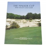 1985 The Walker Cup at Pine Valley Golf Club Official Program - USA vs GB & Ireland
