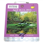 Bubba Watson Signed 2014 Masters Series Badge #R17516 JSA #DD48475