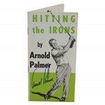 Arnold Palmer Signed 1964 Hitting the Irons by Arnold Palmer Booklet JSA ALOA