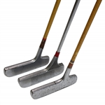 Three A.G. Spalding & Bros. Cash-In Putters