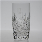 Pine Valley Golf Club Heavy Lenox Cut Crystal 14oz. Highball Glass with Etched Logo - Perfect Condition