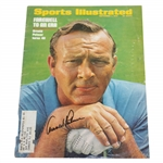 Arnold Palmer Signed Sports Illustrated Front Cover Page - September 1969 JSA ALOA