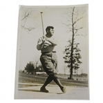 1922 Babe Ruth Golfing King of Swat Training Wide World Photo - Victor Forbin Collection